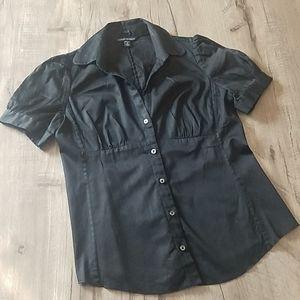Banana Republic black dress shirt